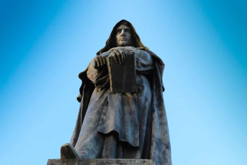 Statue de Giordano Bruno, Rome