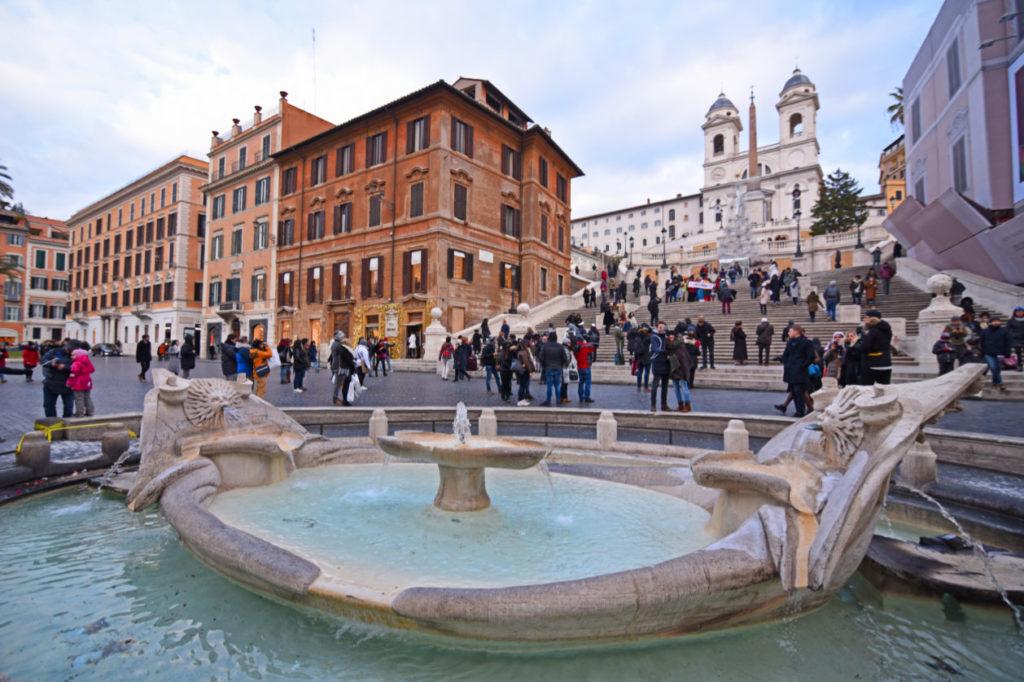 L'une des Fontaine de Rome