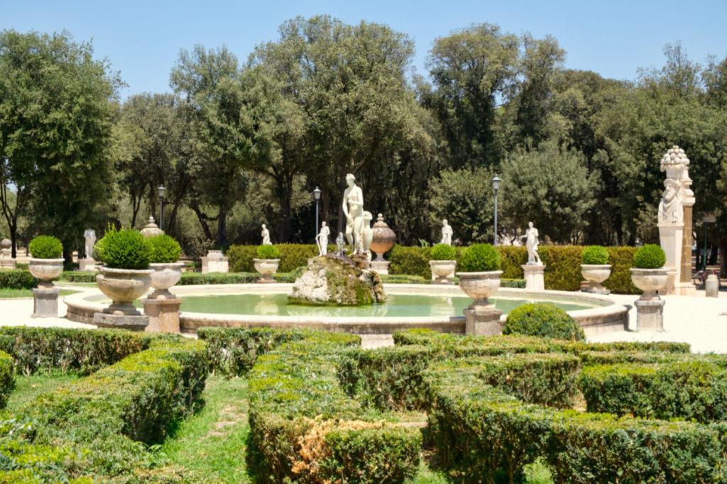 Jardin de la Villa Borghèse, Rome