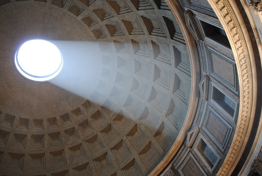 Le Panthéon rappelle que Rome a traversé les siècles