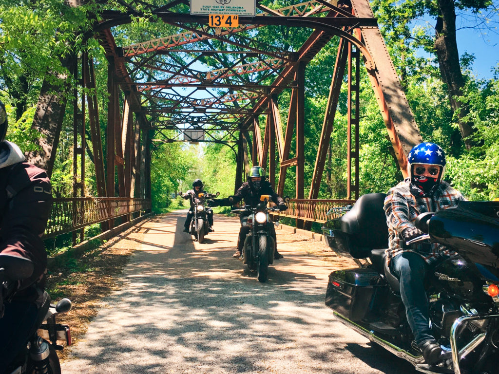 Voyage en moto sur la Route 66