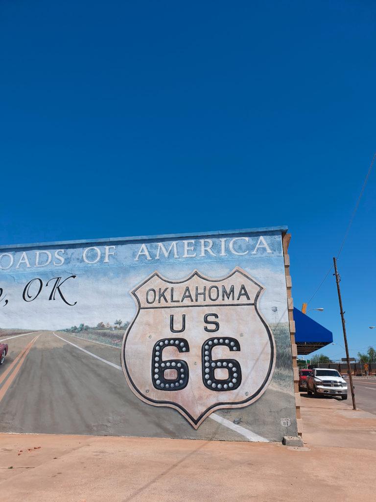 Road 66 Oklahoma