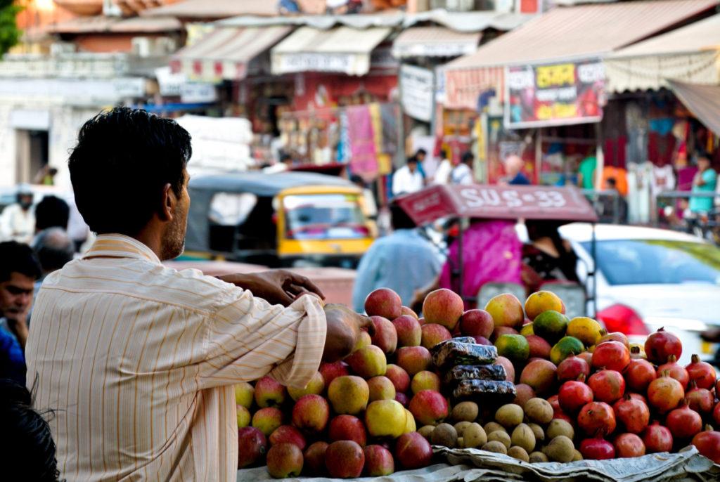 Jaipur, scène de vie