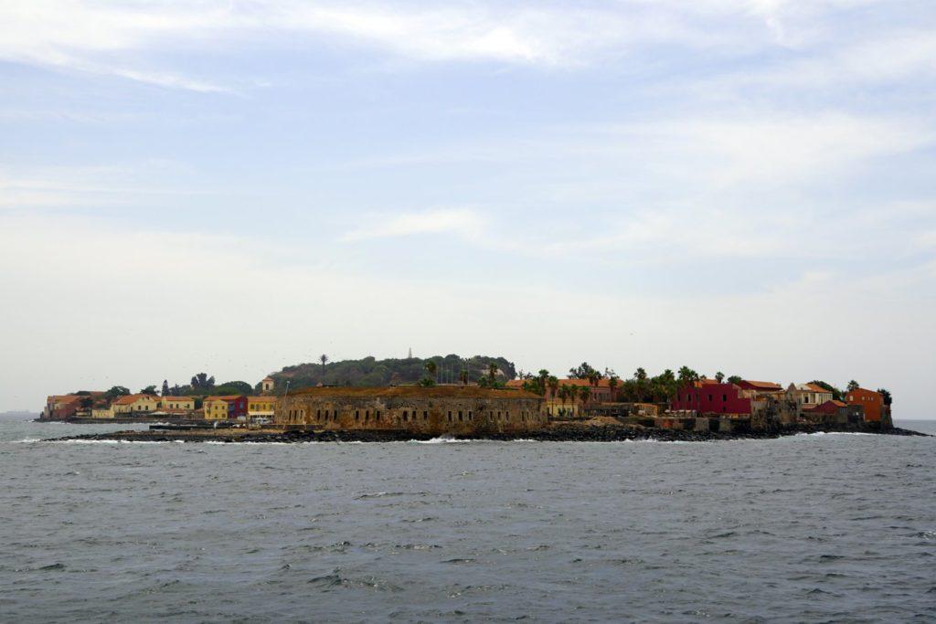 Île de Gorée en face de Dakar