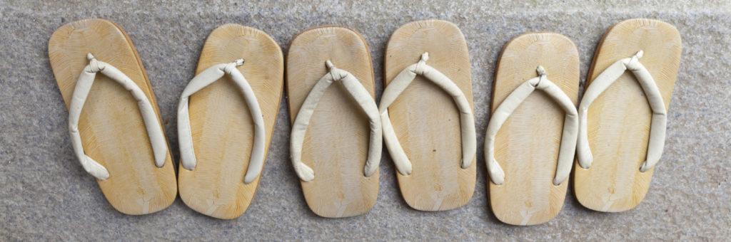 Onsen - Sandales traditionnelles
