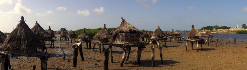 Grenier à mil sur l'île de Fadiouth