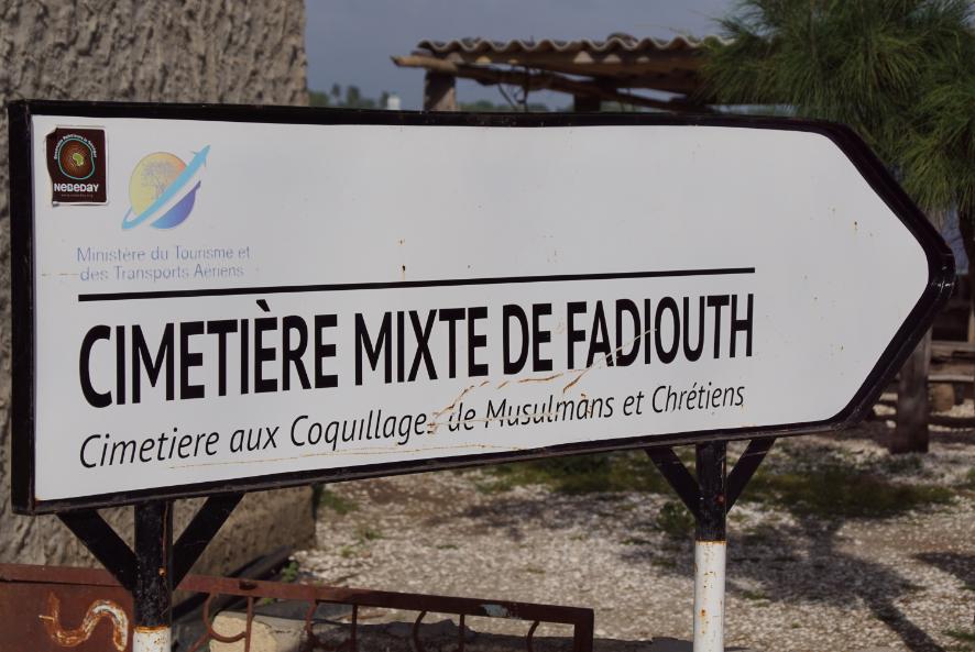 Cimetière de Fadiouth l'île aux coquillages, Sénégal