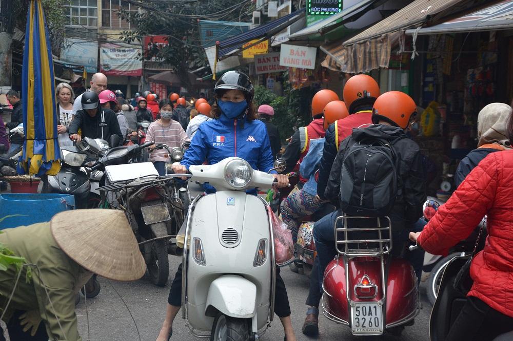 Les scooters omniprésents