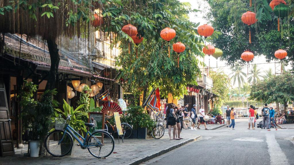 Petite rue d'Hoi An, Vietnam