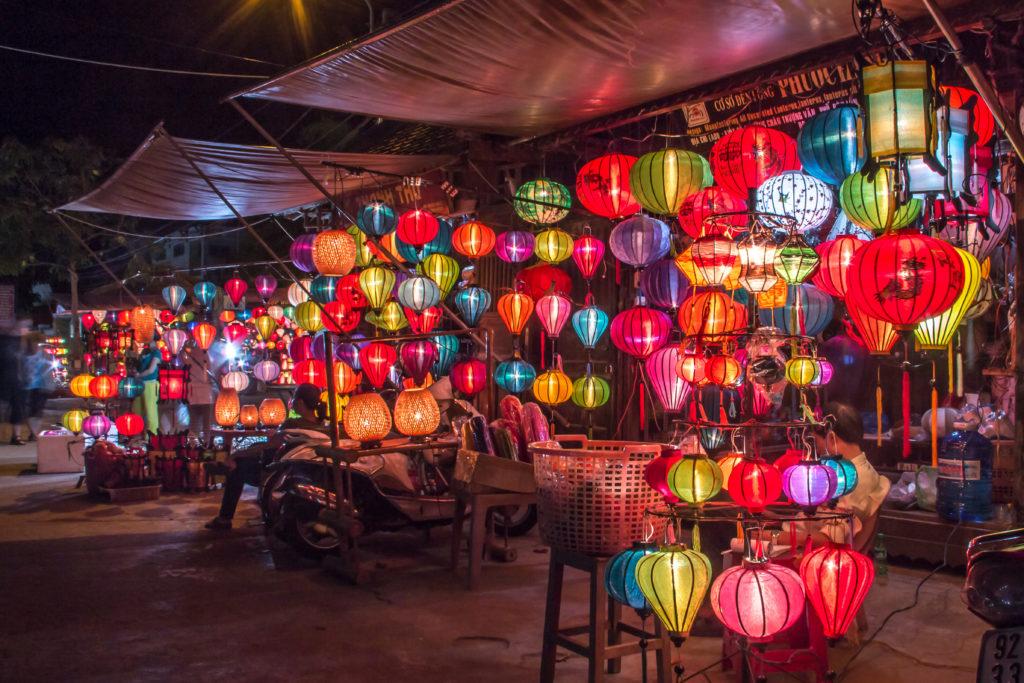 Les fameuses lanternes de Hoi An